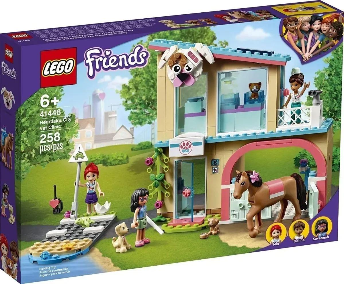 Lego 41446 Friends - Clínica Veterinária De Heartlake  258 peças