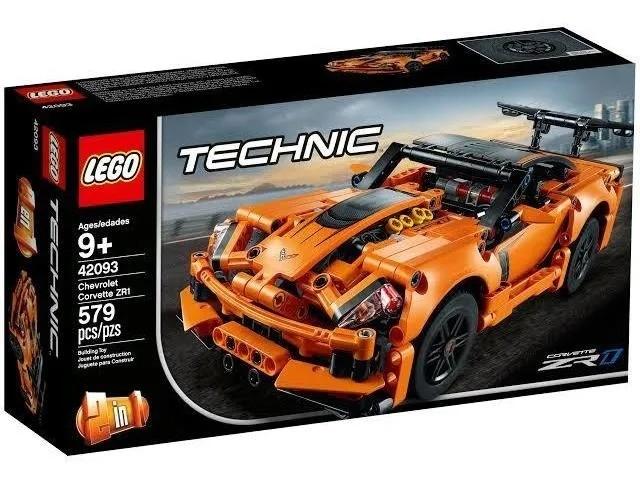 Lego 42093 Technic - Chevrolet Corvette ZR1 – 579 peças