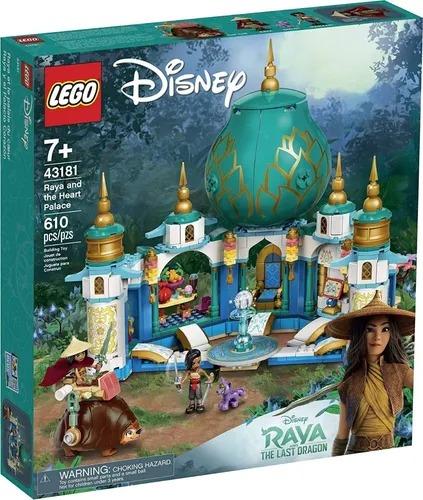 Lego 43181 Disney - Raya E O Palácio Coração -610 peças