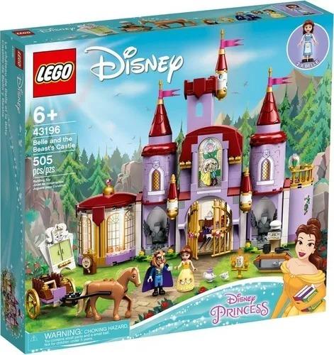 Lego 43196 Princesas Disney - A Bela E O Castelo Da Fera  505 peças