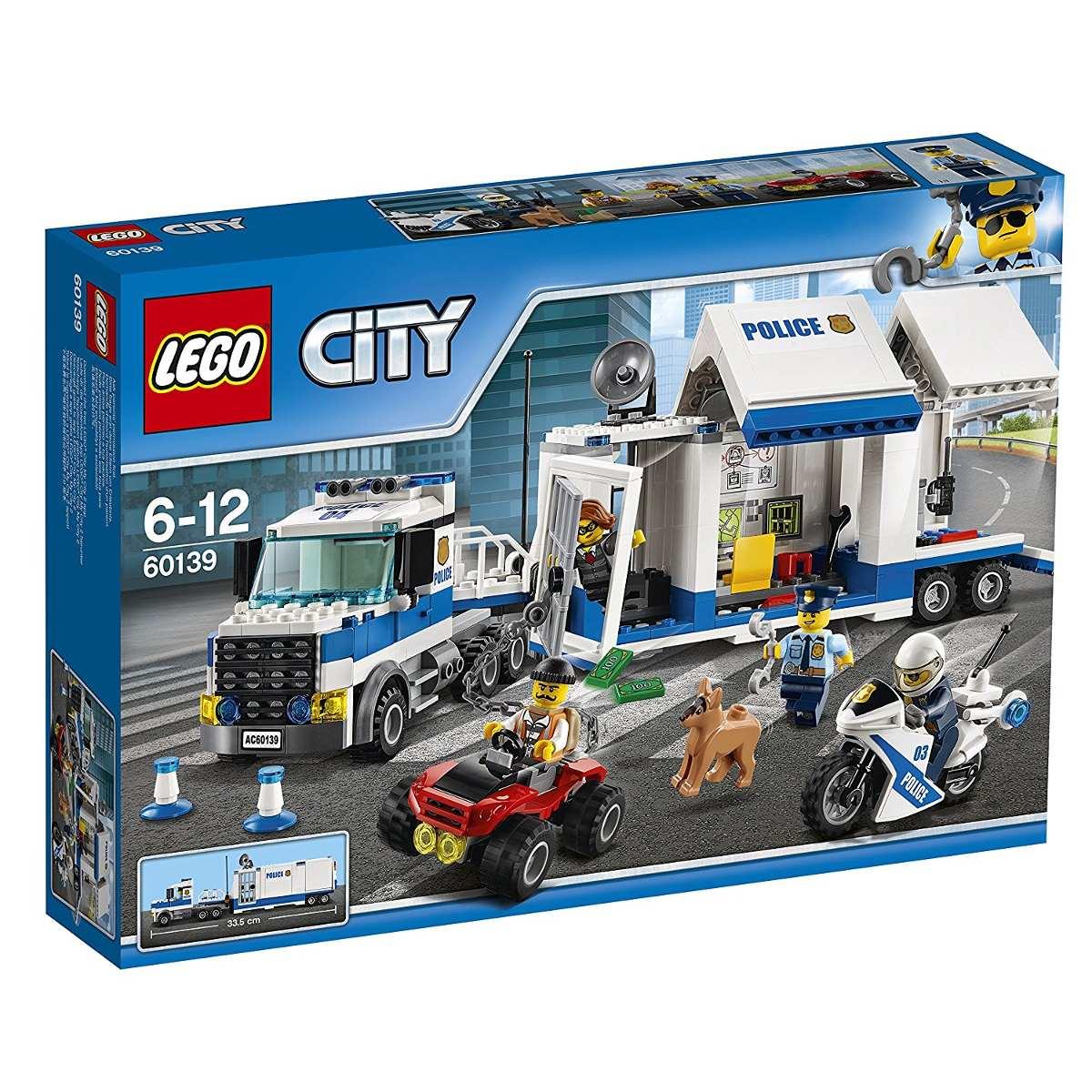 Lego 60139 - City - Centro de Comando Móvel -374 peças