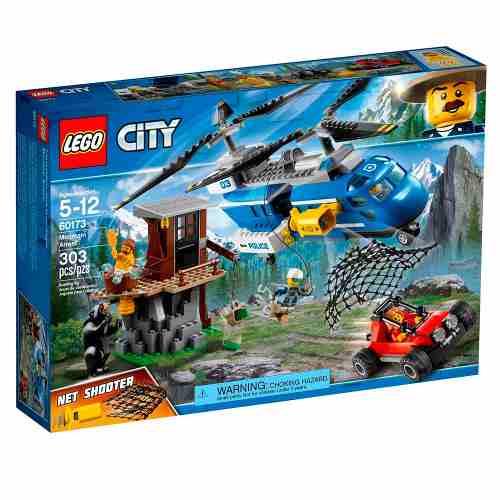 Lego 60173 – City – Detenção na Montanha- 303 peças
