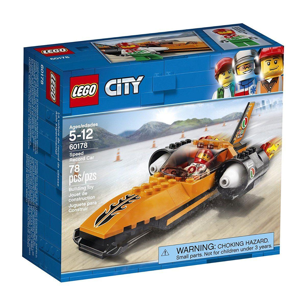 Lego 60178 City Batedor de Recordes de Velocidade 78 peças