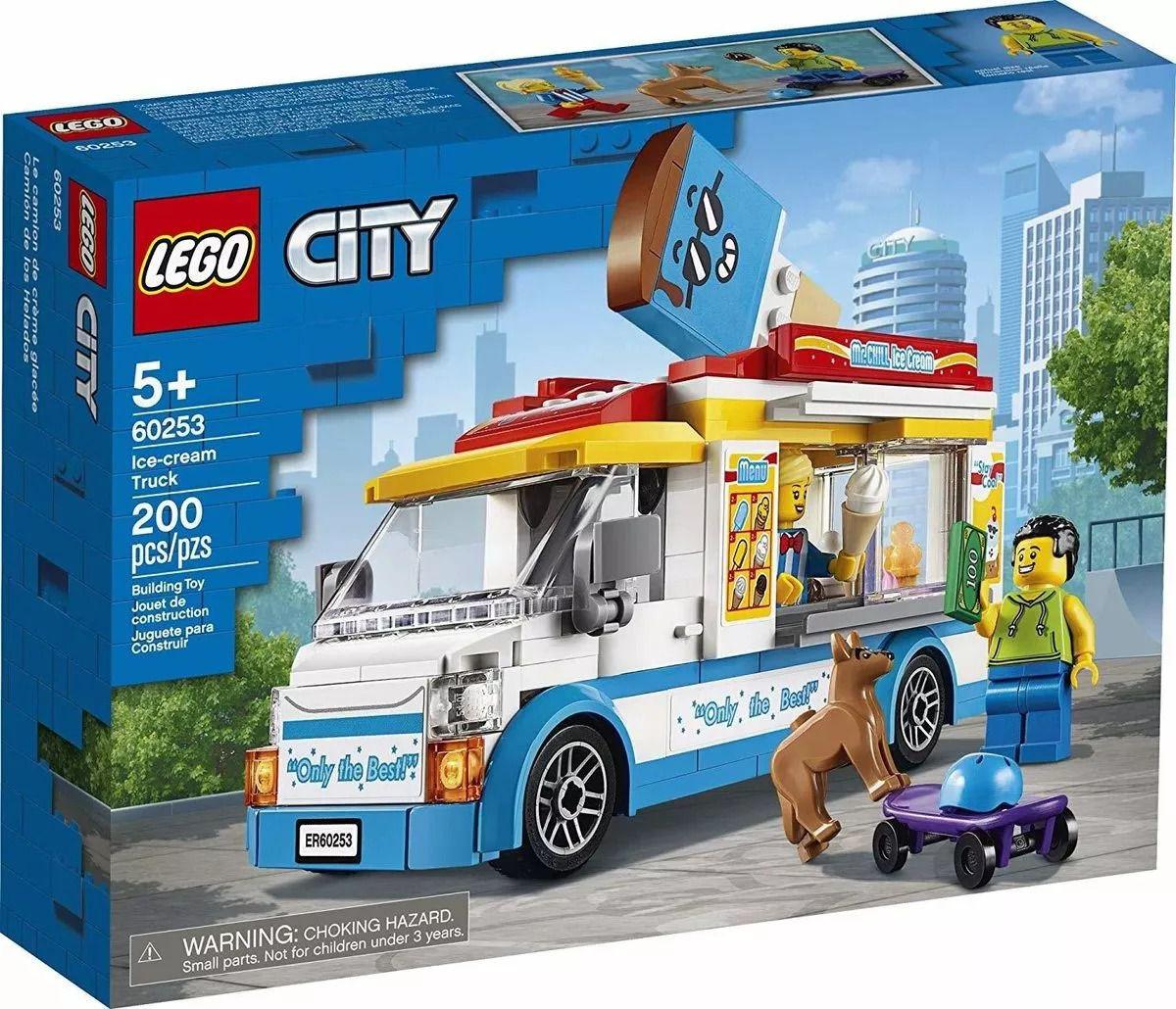 Lego 60253 City - Van de Sorvetes – 200 peças