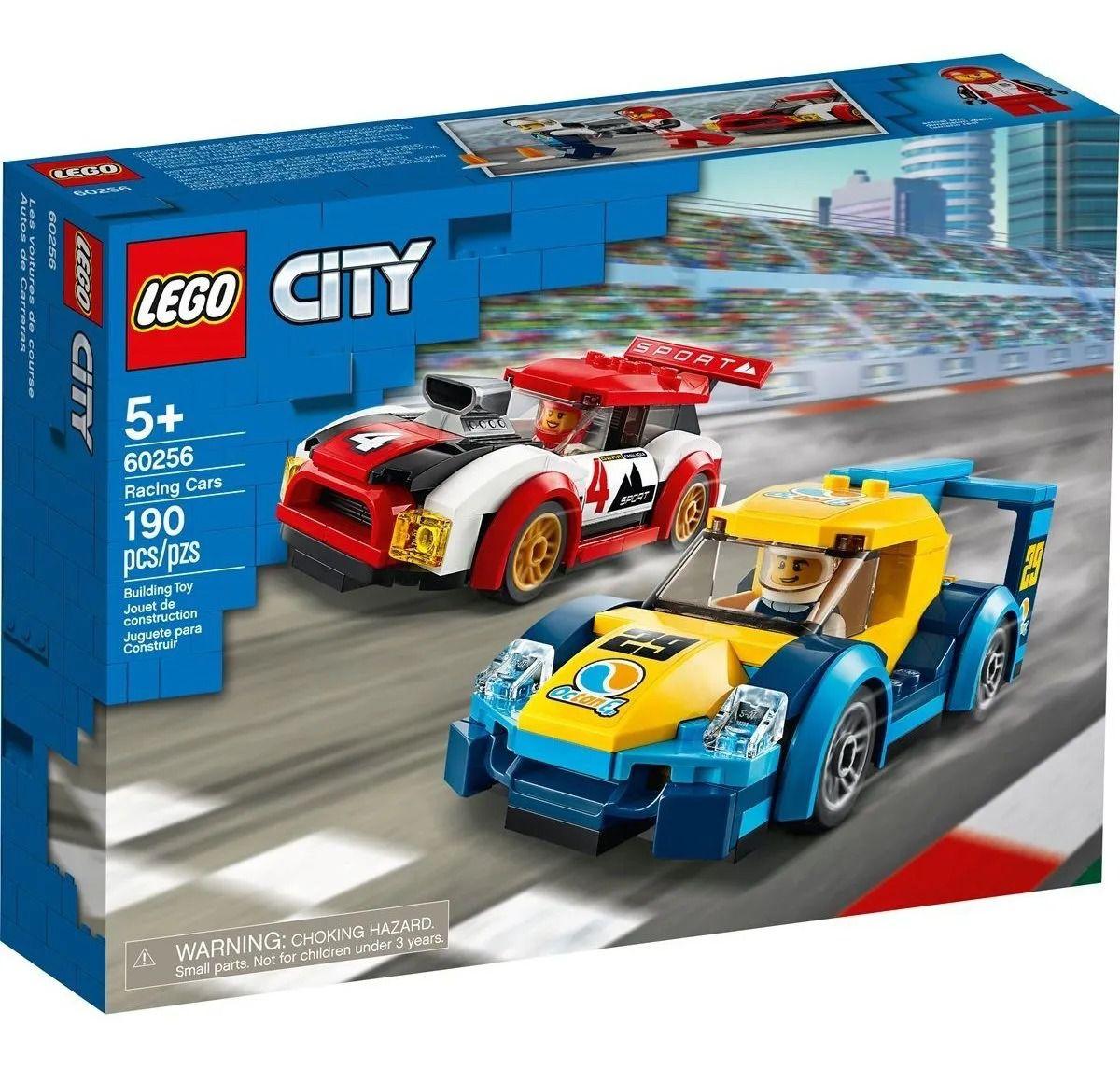 Lego 60256 City Competiçao De Carros De Corrida - 190 Peças