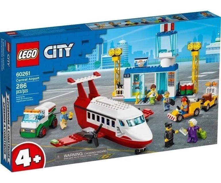 Lego 60261 City Aeroporto Central – 286 peças
