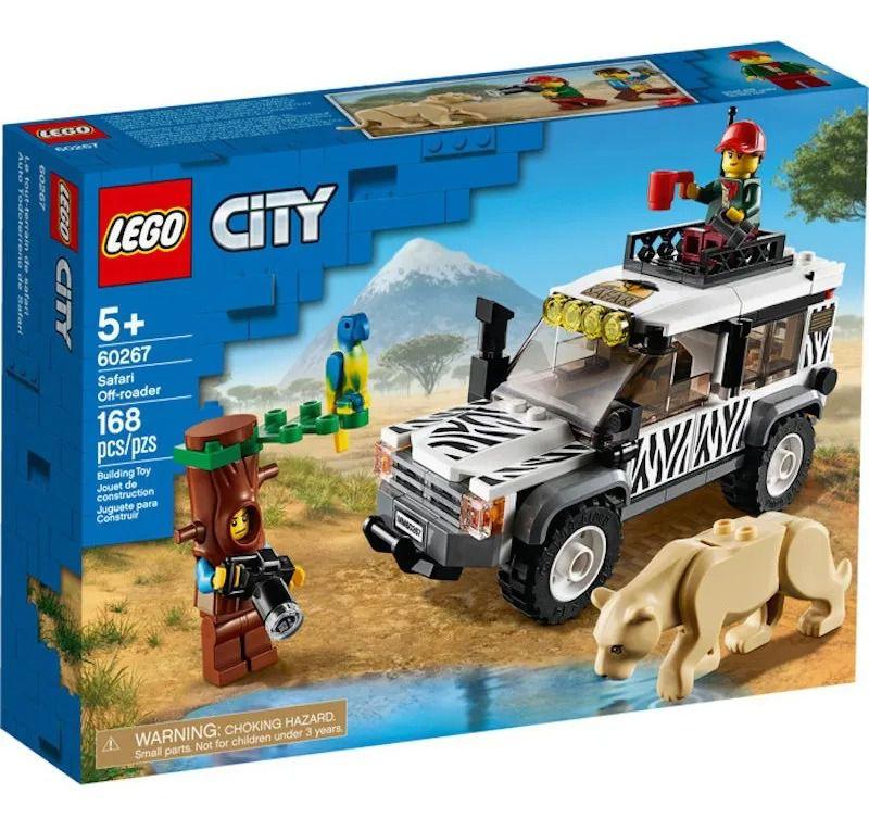 Lego 60267 City – Jipe Off-Roader Para Safari – 168 peças