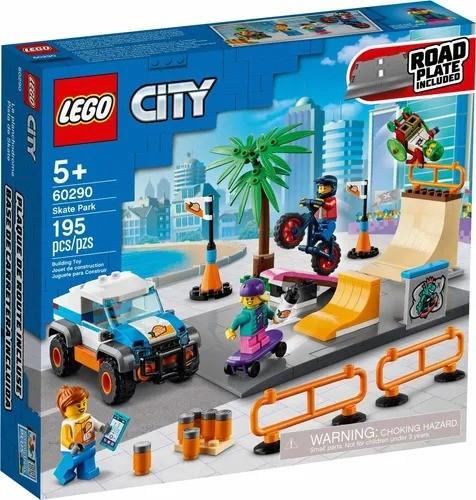 Lego 60290 City Parque de Skate – 195 peças
