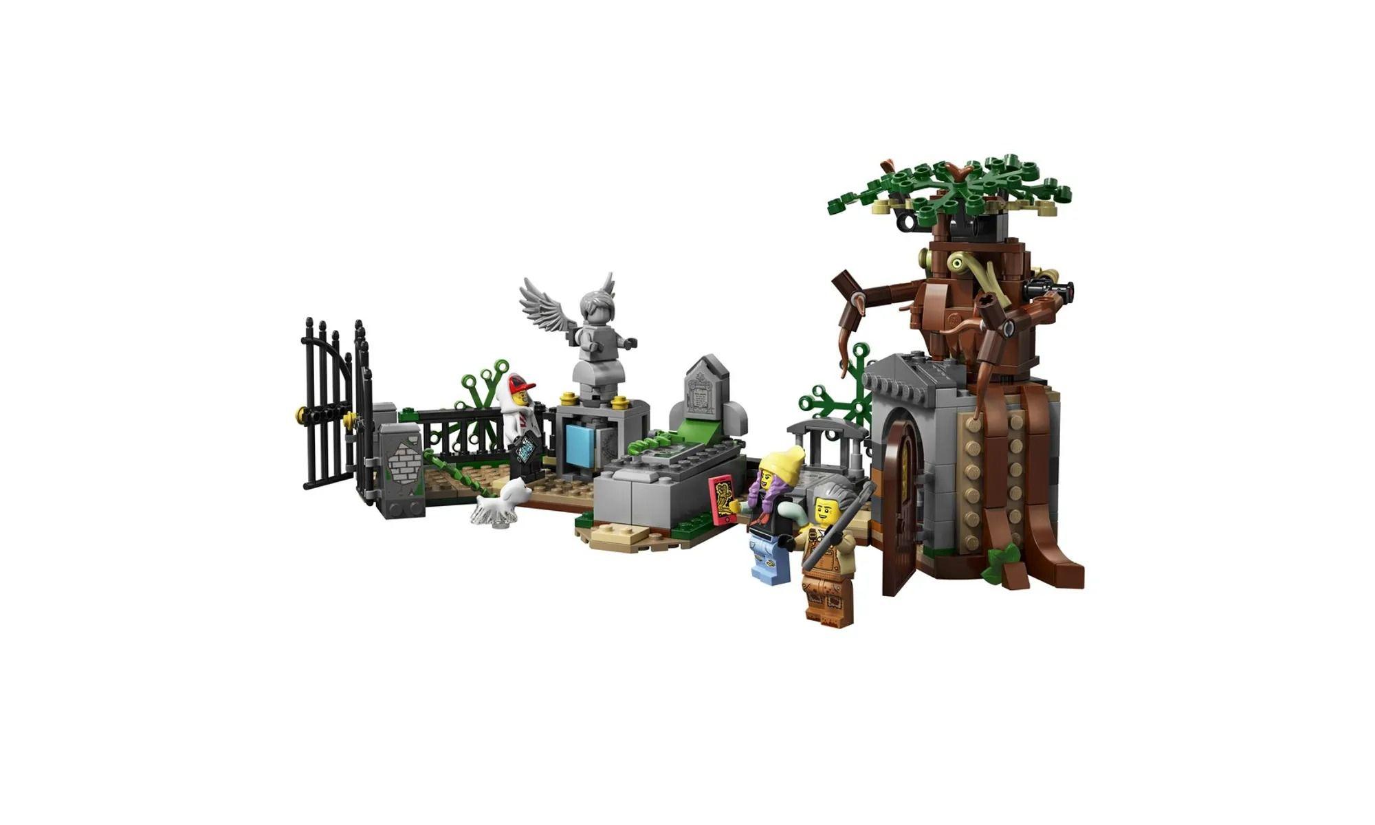 Lego 70420 Hidden Side - Mistério do Cemitério Com APP – 335 peças  - Doce Diversão