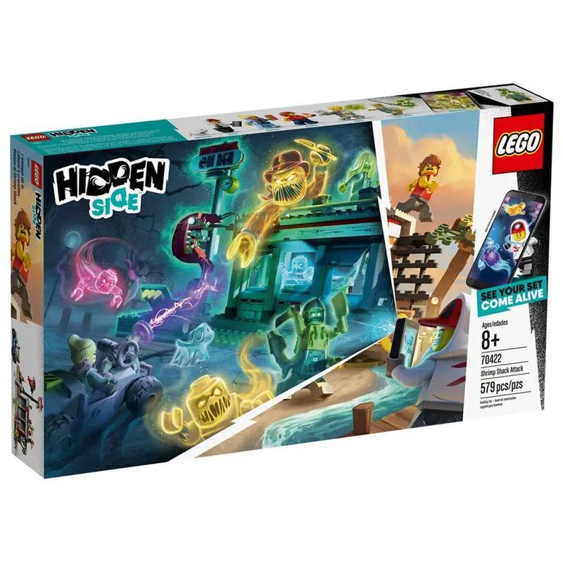 Lego 70422 Hidden Side - Ataque Ao Mercado De Camarão Com APP – 579 peças