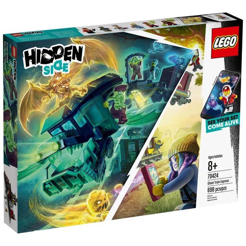 Lego 70424 Hidden Side  Expresso Fantasma Com APP  698 peças