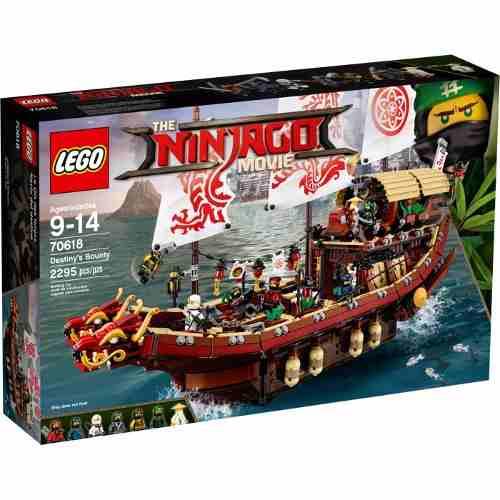 Lego 70618 Ninjago Filme - Navio Recompensa Do Destino 2295 Peças