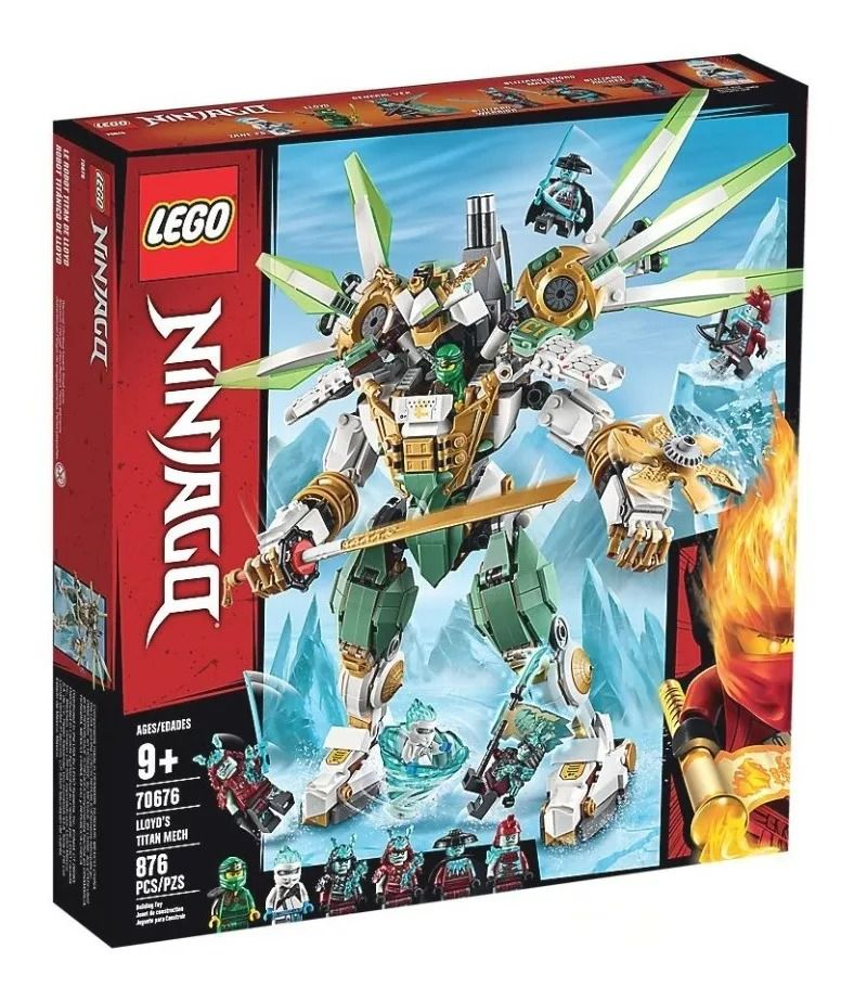 Lego 70676  Ninjago - Robô Titã do Lloyd – 876 peças