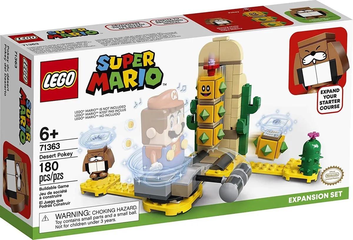 Lego 71363 Super Mario Cactubola Do Deserto Expansão  180 peças