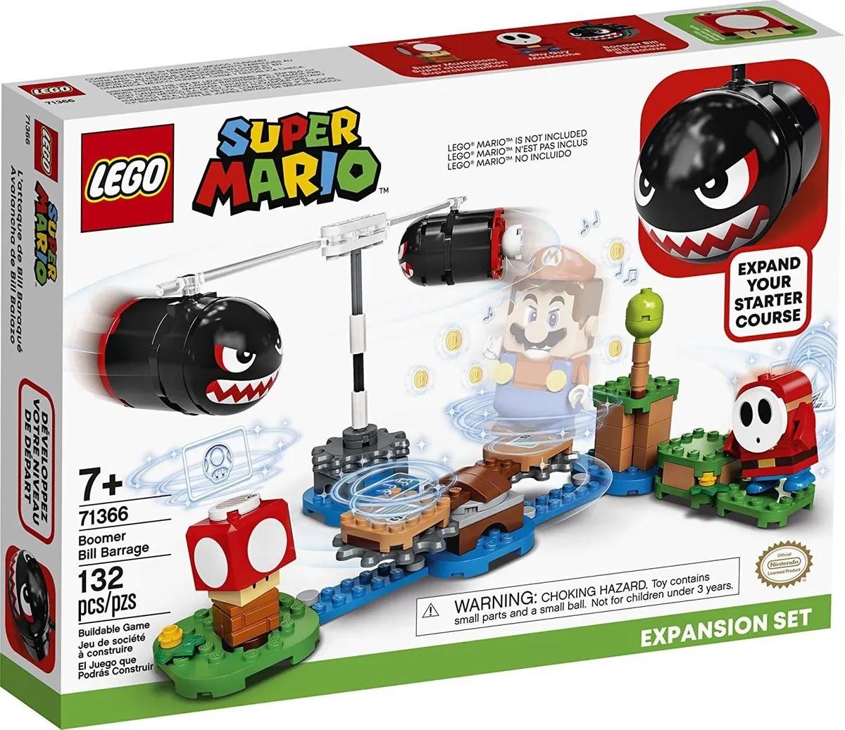 Lego 71366 Super Mario Bombardeio De Bill Balaços Expansao – 132 peças