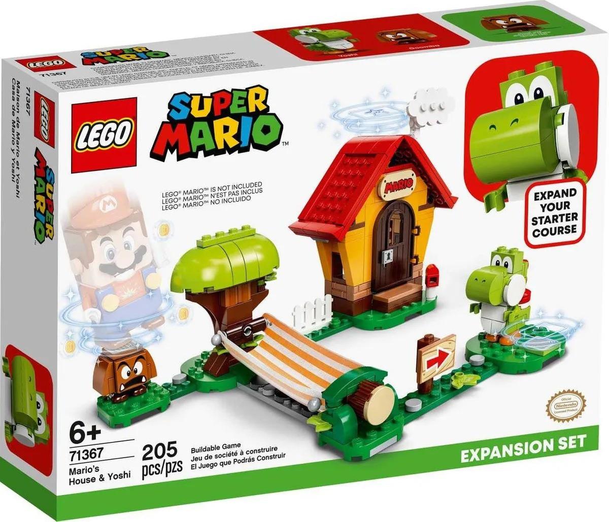 Lego 71367 Super Mario Casa De Mario E Yoshi Expansão – 205 peças