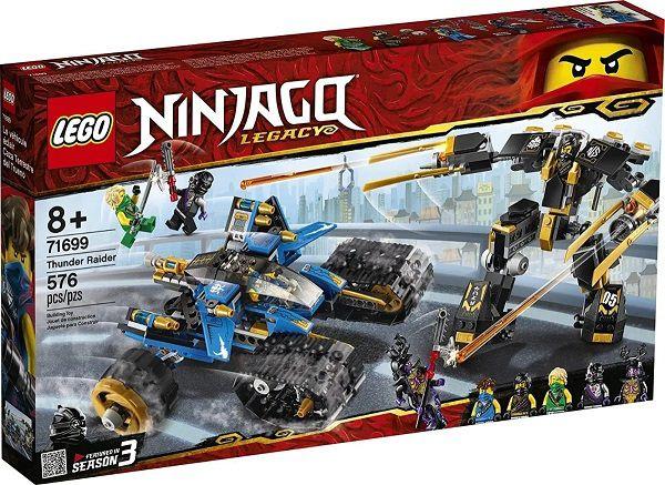 Lego 71699 Ninjago - Trovão Invasor –  576 peças