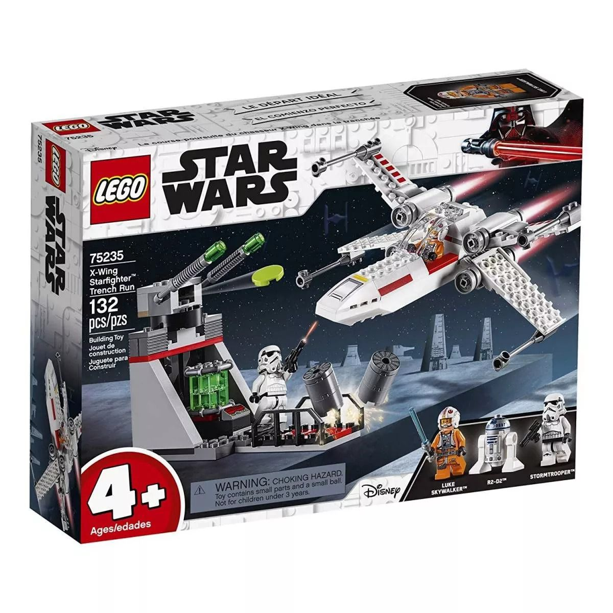 Lego 75235 Star Wars X-Wing Starfighter - 132 Peças