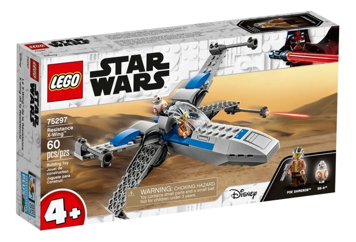 Lego 75297 Star Wars - X-wing Da Resistência – 60 peças