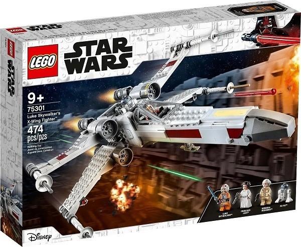 Lego 75301 Star Wars - X-Wing Fighter Do Luke Skywalker - 474 peças