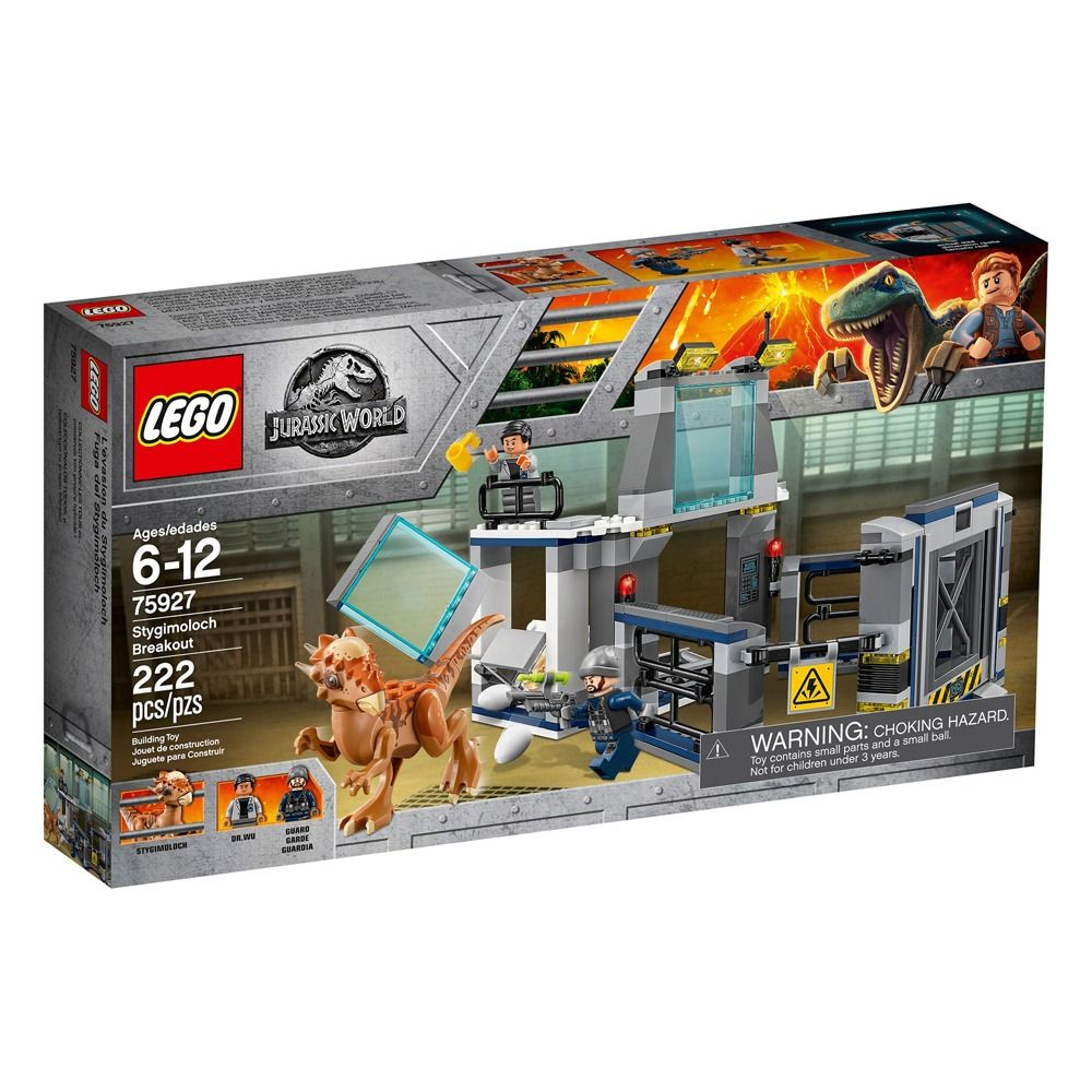Lego 75927 Jurrasic World - Fuga do Laboratório Stygimoloch