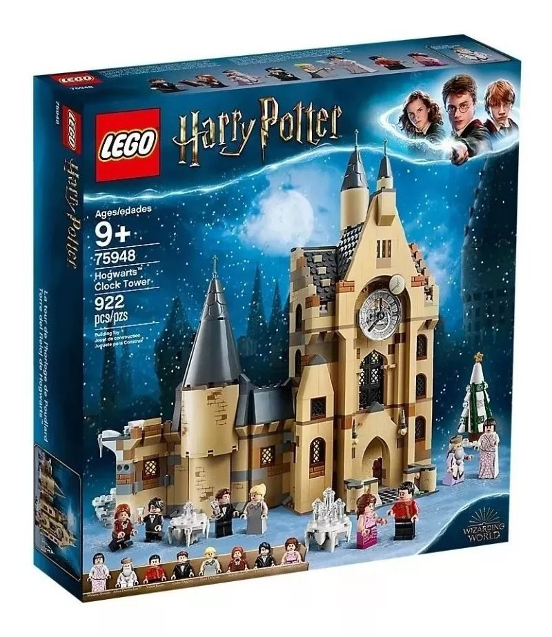 Lego 75948 Harry Potter - Torre Do Relógio de Hogwarts – 922 peças