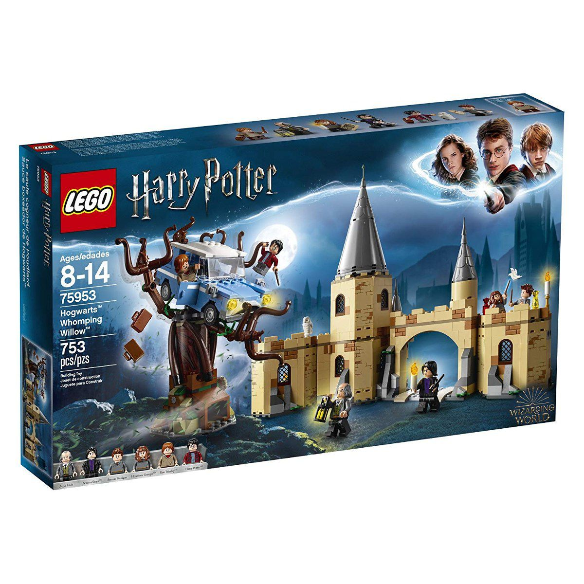Lego 75953 Harry Potter - o Salgueiro Lutador de Hogwarts -753 peças
