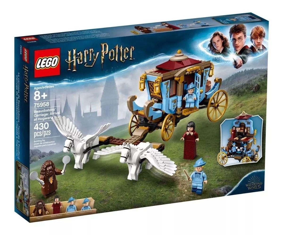 Lego 75958 Harry Potter - Carruagem de Beauxbatons: Chegada a Hogwarts – 430 peças