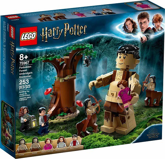 Lego 75967 Harry Potter A Floresta Proibida Grope E Umbridge – 253 peças