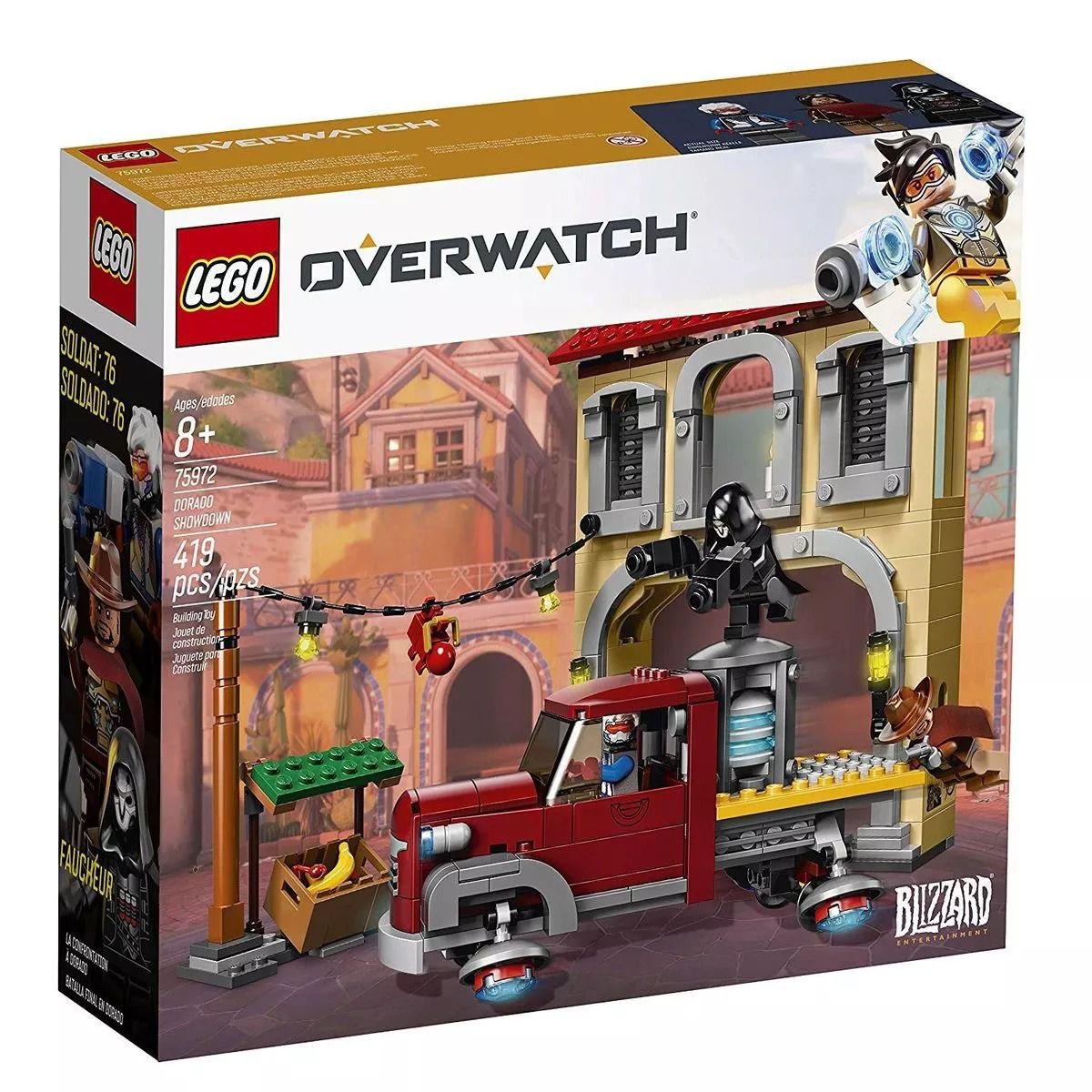 Lego 75972 Overwatch - Confronto de Dorado – 419 peças