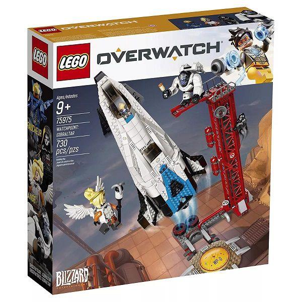 Lego 75975 Overwatch - Ponto de Vigia Gibraltar – 730 peças