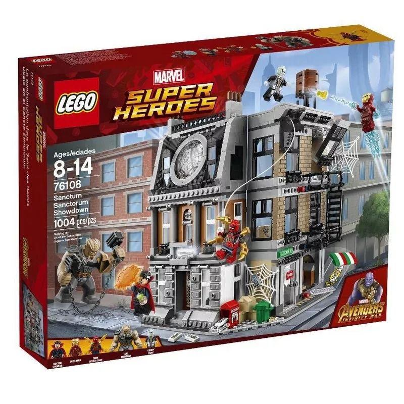 Lego 76108 Marvel Super Heroes - O Confronto No Sanctum Sanctorum – 1004 peças