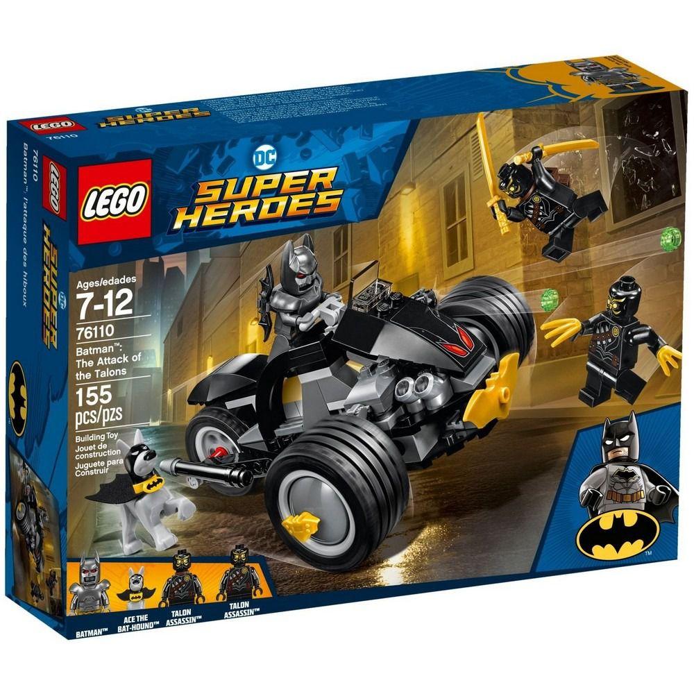 Lego 76110 Super Heroes – Batman Ataque Dos Garras -155 peças