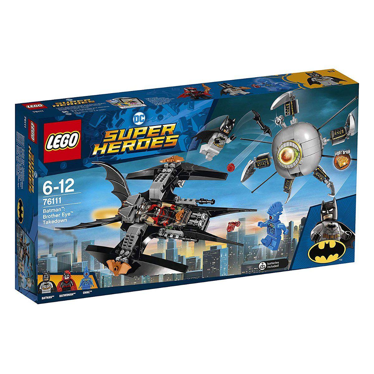 Lego 76111 Super Heroes - Batman a Derrubada do Irmão Olho – 269 peças