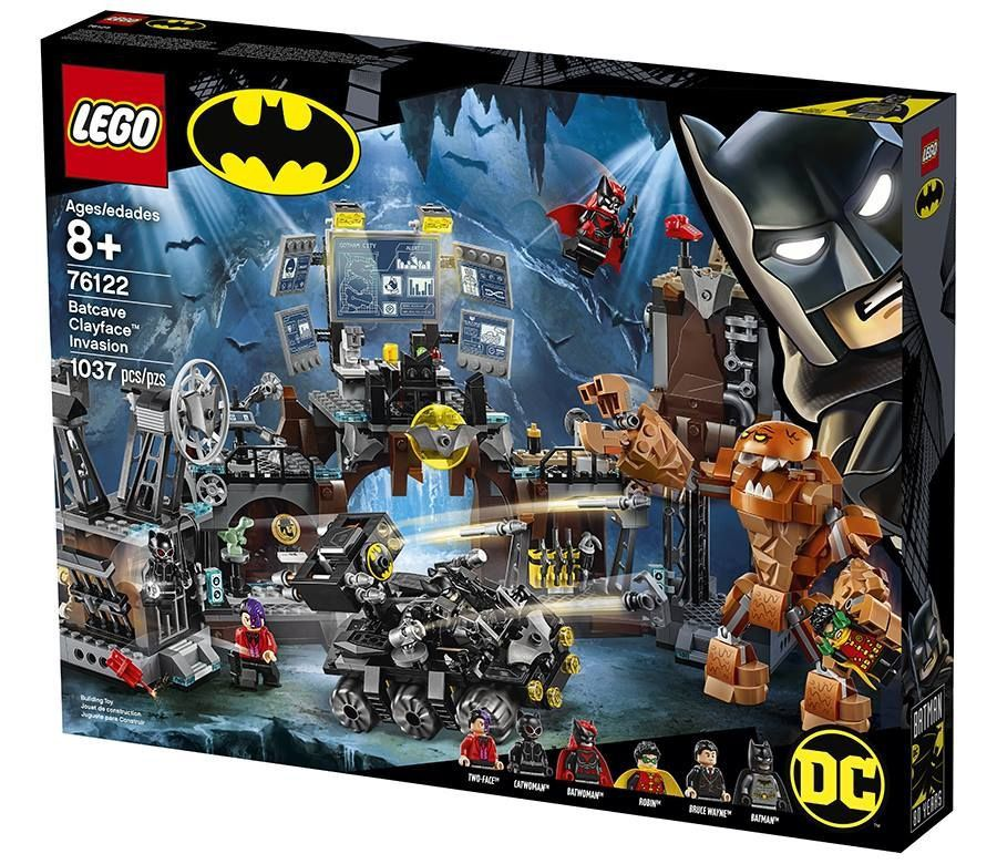 Lego 76122 Batman – Batcaverna Com Bat-Tank Invasão Do Cara De Barro – 1037 peças