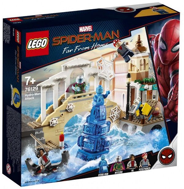 Lego 76129 Marvel Spider Man Longe de Casa- Ataque do Hidron -471 peças