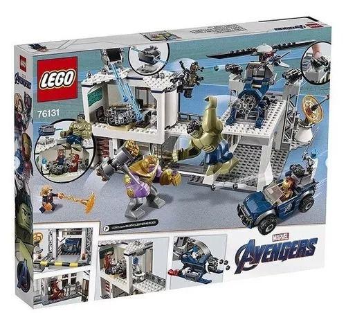 Lego 76131 Avengers Ultimato - Combate No Quartel dos Vingadores - 699 peças  - Doce Diversão