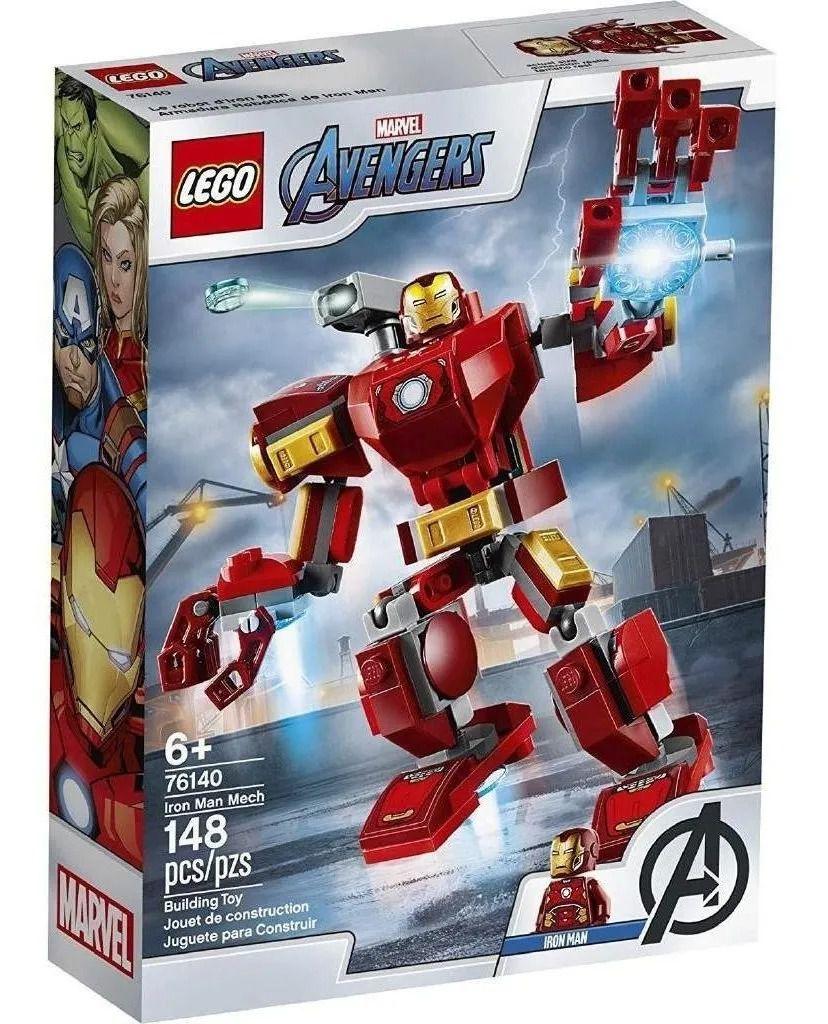 Lego 76140 Marvel Armadura Robo Homem Ferro -  148 Peças