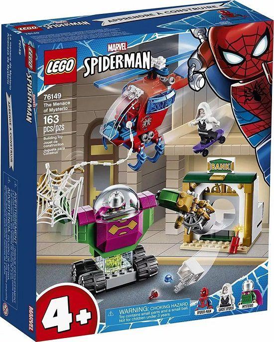 Lego 76149 Super Heroes SpiderMan - a Ameaça de Mysterio – 163 peças