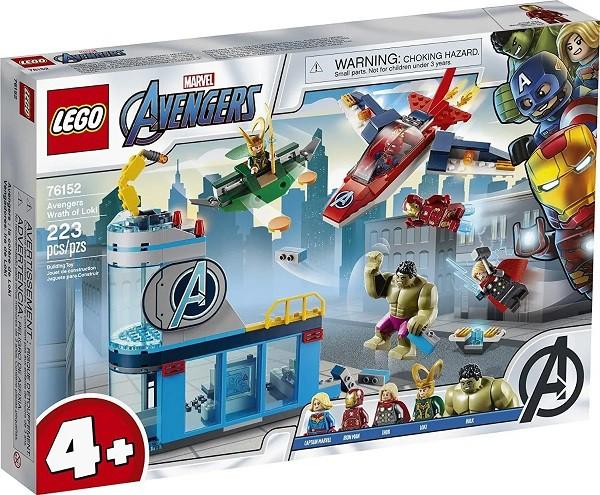 Lego 76152 Marvel Avengers - Vingadores A Ira De Loki – 223 peças
