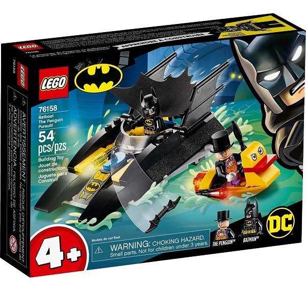 Lego 76158 Dc Batman Perseguição De Pinguim Em Batbarco – 54 peças