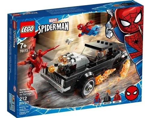 Lego 76173 Homem-aranha E Motoqueiro Fantasma Vs Carnificina – 212 peças