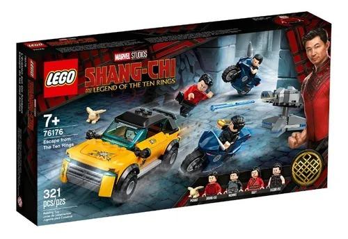 Lego 76176 Marvel Shang-Chi - Fuga Dos Dez Aneis – 321 peças