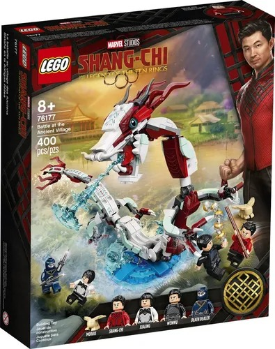 Lego 76177 Marvel Shang-Chi - Batalha Na Vila Antiga – 400 peças