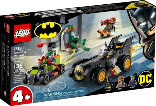 Lego 76180 Batman Vs Coringa - Perseguição De Batmóvel – 136 peças