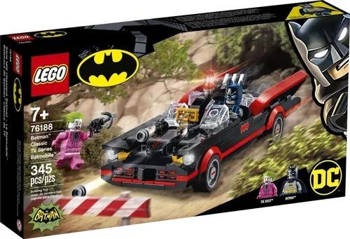 Lego 76188 DC Batman e Coringa – Série Tv Clássica Batmóvel – 345 peças