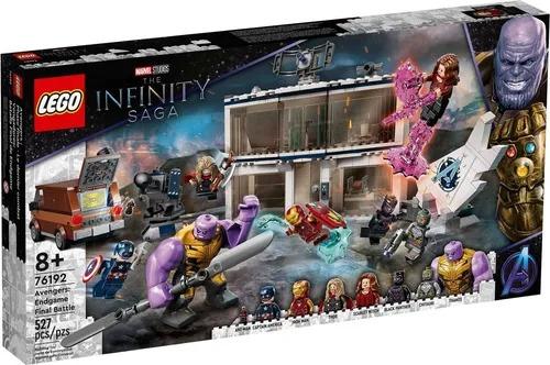 Lego 76192 Marvel O Combate Final Dos Vingadores Endgame  527 peças