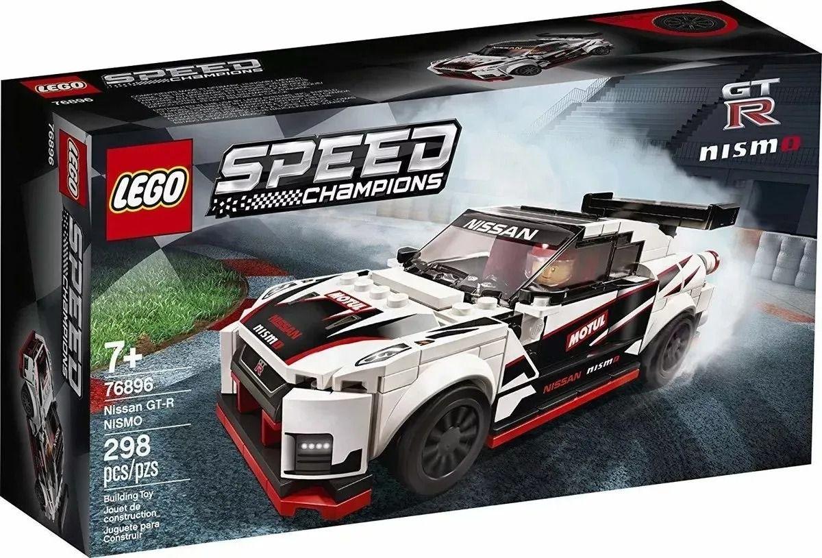 Lego 76896 Speed Champions - Nissan GT-R Nismo - 298 Peças