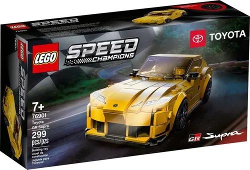 Lego 76901 Speed Champions - Toyota Gr Supra  299 peças