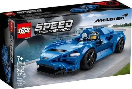 Lego 76902 Speed Champions Mclaren Elva  263 peças